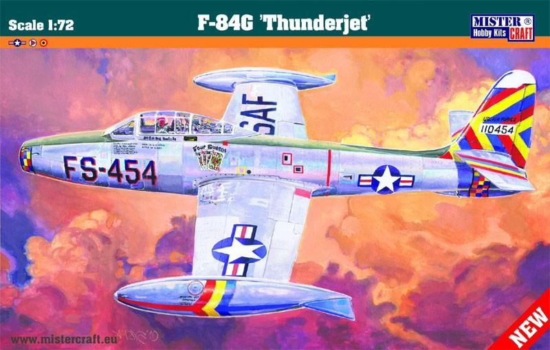 F-84G Thunderjet - 1/72 - Mistercraft C-90  - BLIMPS COMÉRCIO ELETRÔNICO