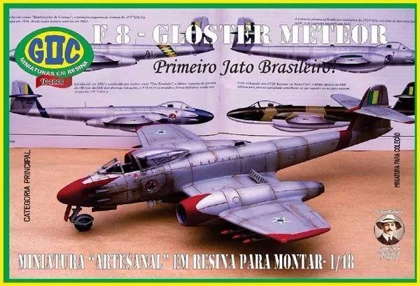 F-8 Gloster Meteor FAB - 1/48 - GIIC  - BLIMPS COMÉRCIO ELETRÔNICO