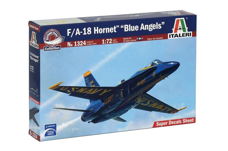 F/A-18 Hornet Blue Angels - 1/72 - Italeri 1324  - BLIMPS COMÉRCIO ELETRÔNICO