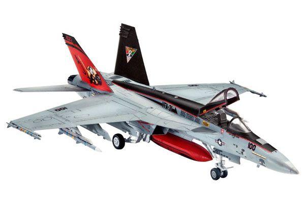 F/A-18E Super Hornet - 1/144 - Revell 03997  - BLIMPS COMÉRCIO ELETRÔNICO
