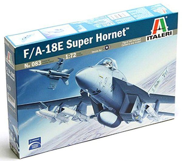 F/A-18E Super Hornet - 1/72 - Italeri 083  - BLIMPS COMÉRCIO ELETRÔNICO