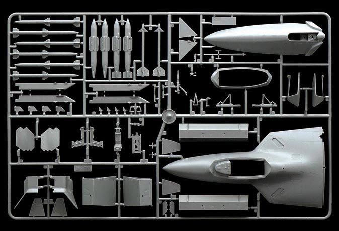 F/A-22 Raptor - 1/48 - Italeri 850  - BLIMPS COMÉRCIO ELETRÔNICO