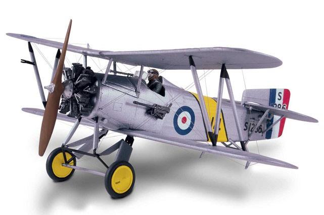 Fairey Flycatcher e Hawker Fury Mk.1 - 1/48 - Lindberg HL441  - BLIMPS COMÉRCIO ELETRÔNICO