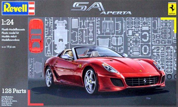 Ferrari SA Aperta - 1/24 - Revell 07090  - BLIMPS COMÉRCIO ELETRÔNICO