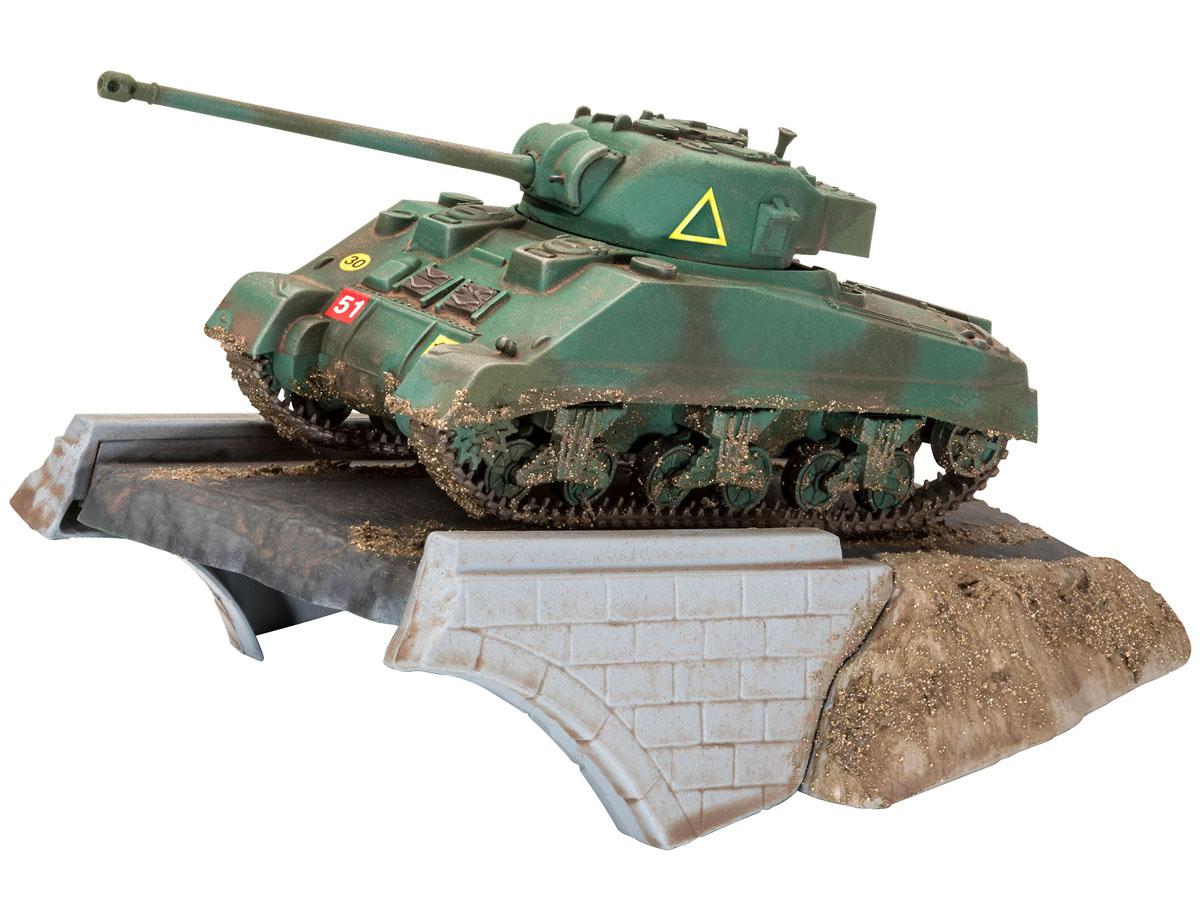 First Diorama Set - Sherman Firefly - 1/76 - Revell 03299  - BLIMPS COMÉRCIO ELETRÔNICO