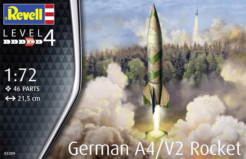 Foguete alemão A4/V2 - Bomba V2 - 1/72 - Revell 03309  - BLIMPS COMÉRCIO ELETRÔNICO