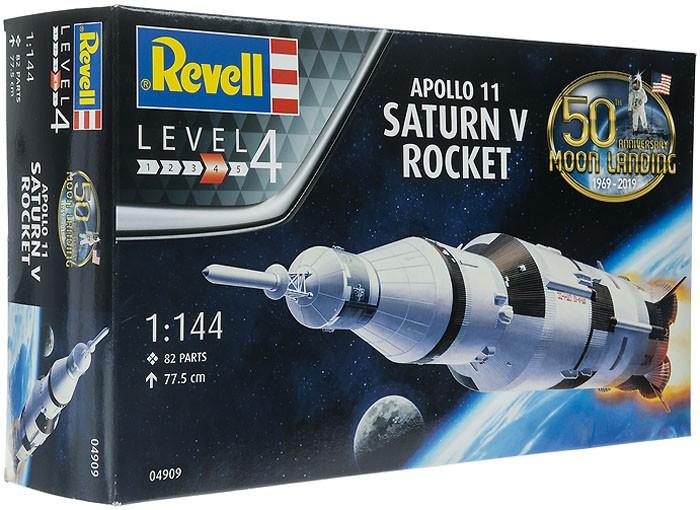 Foguete Saturn V (Apollo 11) - 1/144 - Revell 04909  - BLIMPS COMÉRCIO ELETRÔNICO