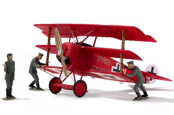 Fokker DR.I Triplane Manfred von Richthofen - 1/28 - Revell 04744  - BLIMPS COMÉRCIO ELETRÔNICO