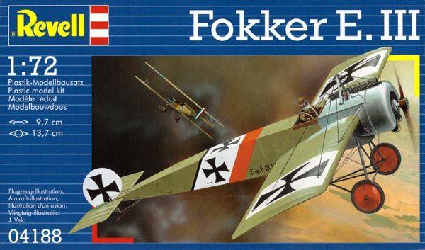 Fokker E.III - 1/72 - Revell 04188  - BLIMPS COMÉRCIO ELETRÔNICO