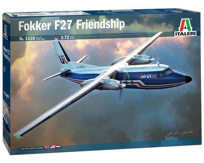 Fokker F27 Friendship - 1/72 - Italeri 1430  - BLIMPS COMÉRCIO ELETRÔNICO