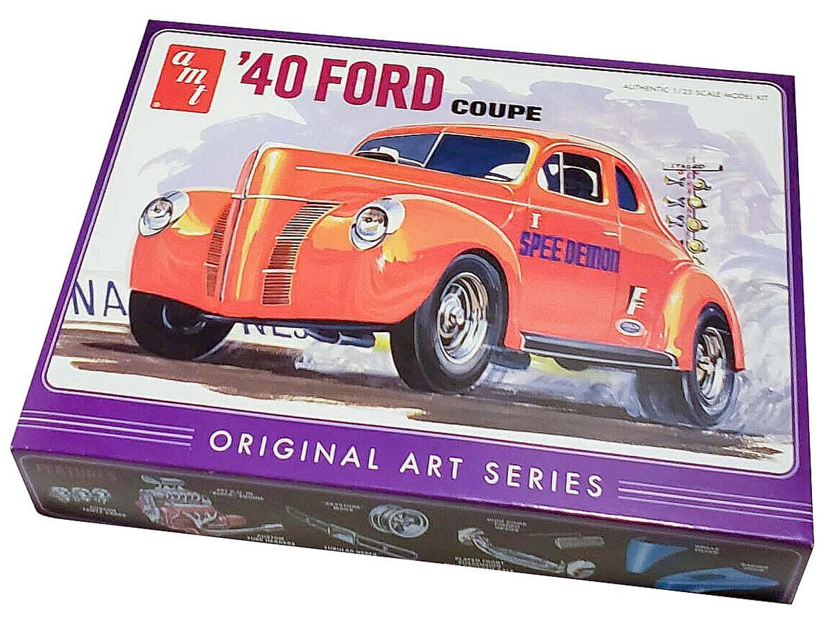 Ford Coupe 1940 Original Arts Series - 1/25 - AMT 850  - BLIMPS COMÉRCIO ELETRÔNICO