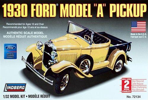 Ford Model A Pickup 1930 - 1/32 - Lindberg 72134  - BLIMPS COMÉRCIO ELETRÔNICO
