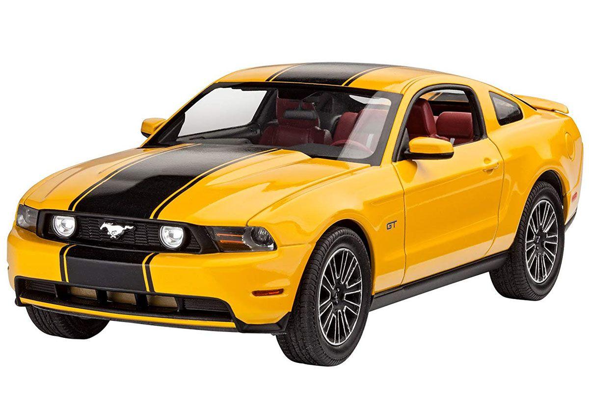 Ford Mustang GT 2010 - 1/25 - Revell 07046  - BLIMPS COMÉRCIO ELETRÔNICO