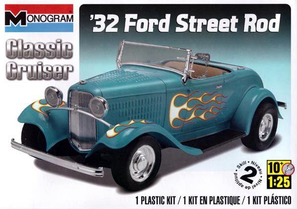 Ford Street Rod 1932 - 1/25 - Monogram 85-0882  - BLIMPS COMÉRCIO ELETRÔNICO