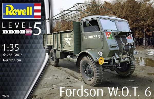 Fordson W.O.T. 6 - 1/35 - Revell 03282  - BLIMPS COMÉRCIO ELETRÔNICO