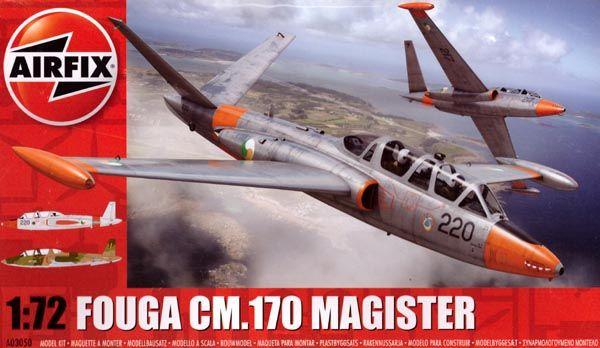 Fouga CM.170 Magister - 1/72 - Airfix A03050  - BLIMPS COMÉRCIO ELETRÔNICO