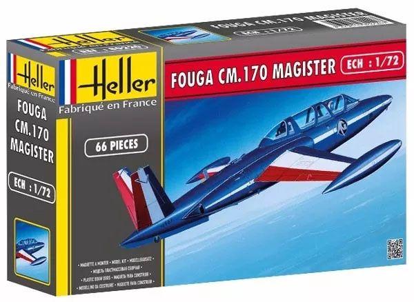 Fouga CM.170 Magister - 1/72 - Heller 80220  - BLIMPS COMÉRCIO ELETRÔNICO