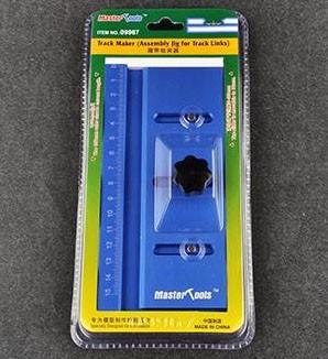 Gabarito para montagem de esteira (lagarta) de plastimodelos - Master Tools 09967  - BLIMPS COMÉRCIO ELETRÔNICO