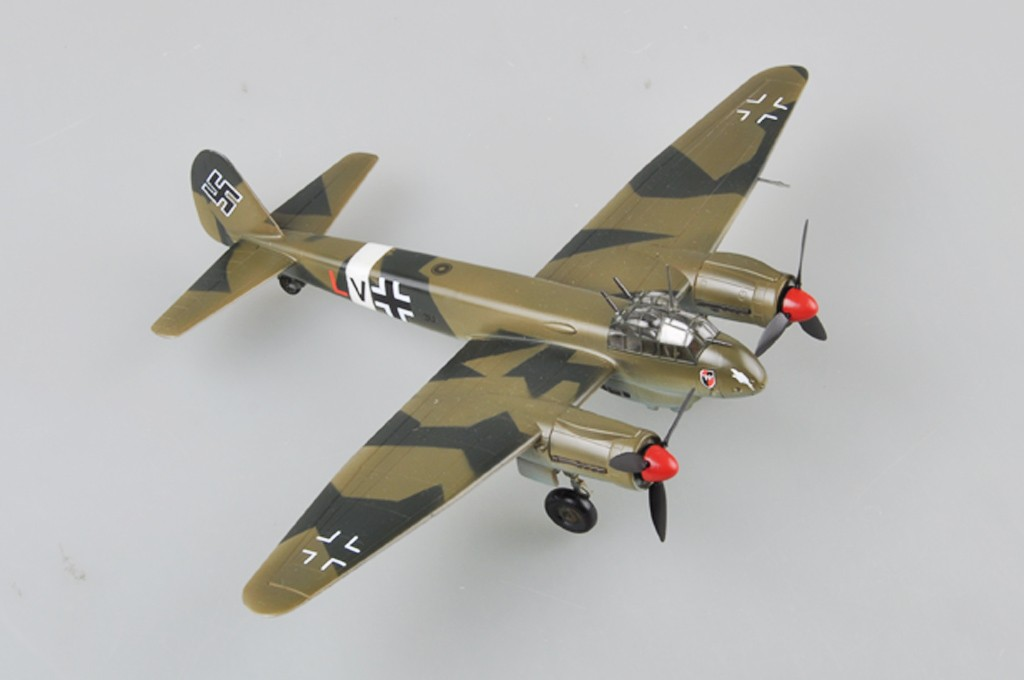 German Ju88 Fighter - 1/72 - HobbyBoss 80297  - BLIMPS COMÉRCIO ELETRÔNICO