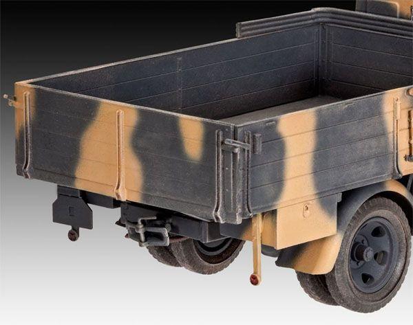 German Truck Type 2,5-32 - 1/35 - Revell 03250  - BLIMPS COMÉRCIO ELETRÔNICO