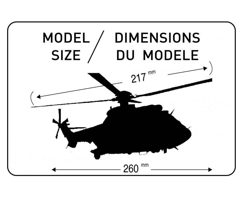 Gift Set AS332 M1 Super Puma - 1/72 - Heller 56367  - BLIMPS COMÉRCIO ELETRÔNICO