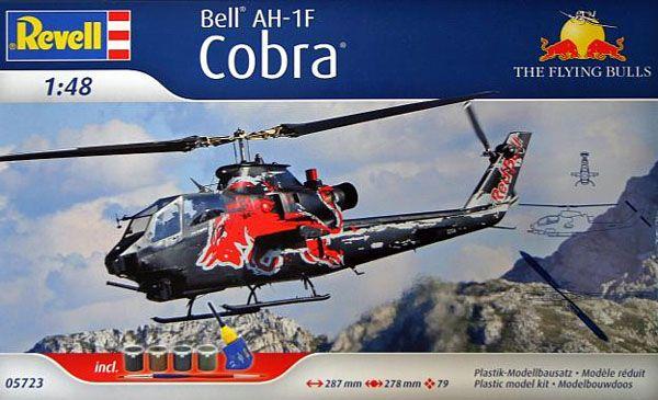 Gift Set Bell AH-1F Cobra - 1/48 - Revell 05723  - BLIMPS COMÉRCIO ELETRÔNICO