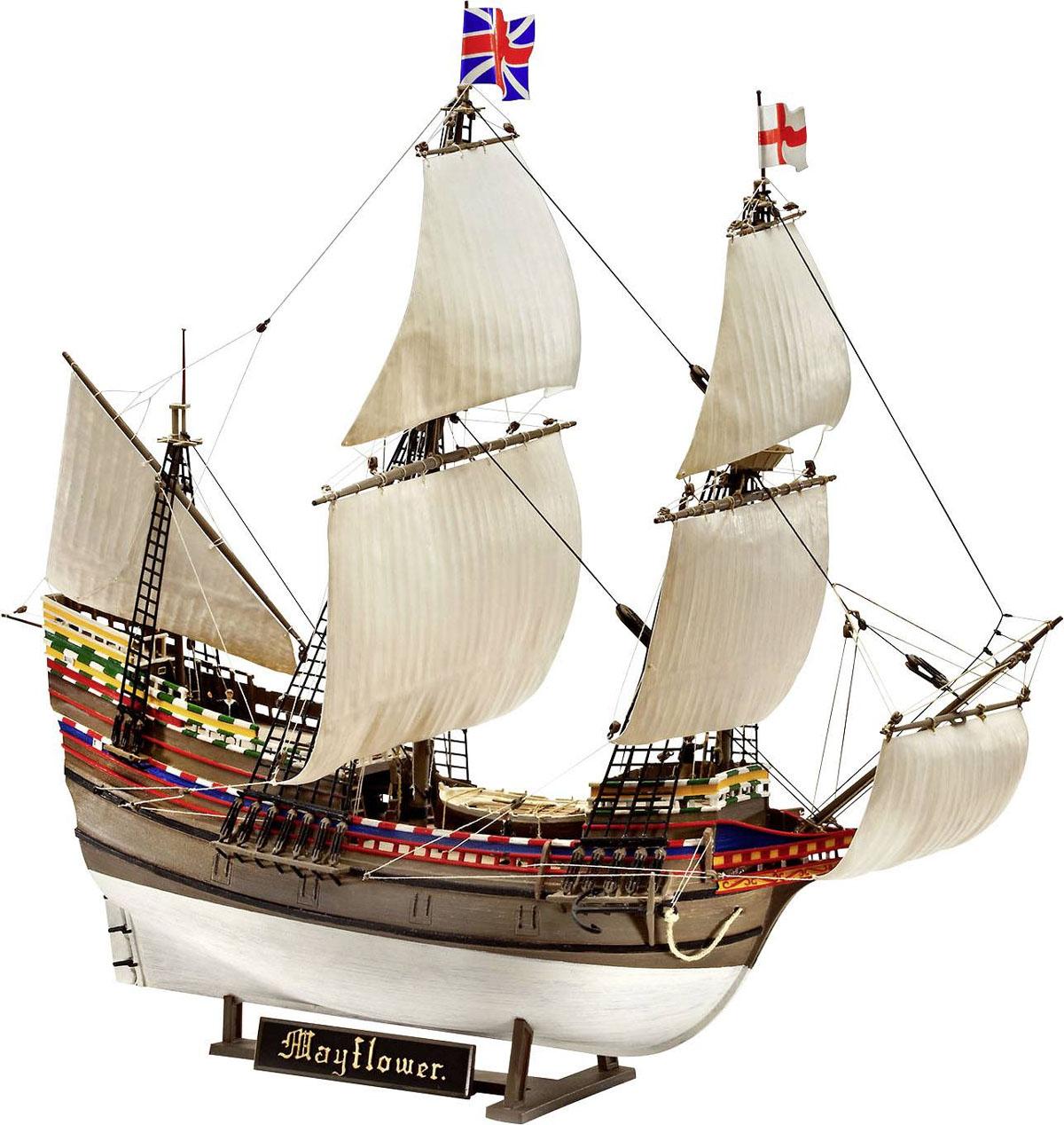 Gift Set Mayflower - 400th Anniversary - 1/83 - Revell 05684  - BLIMPS COMÉRCIO ELETRÔNICO