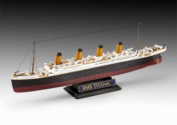 Gift-Set R.M.S. Titanic - 1/700 e 1/1200 - Revell 05727  - BLIMPS COMÉRCIO ELETRÔNICO