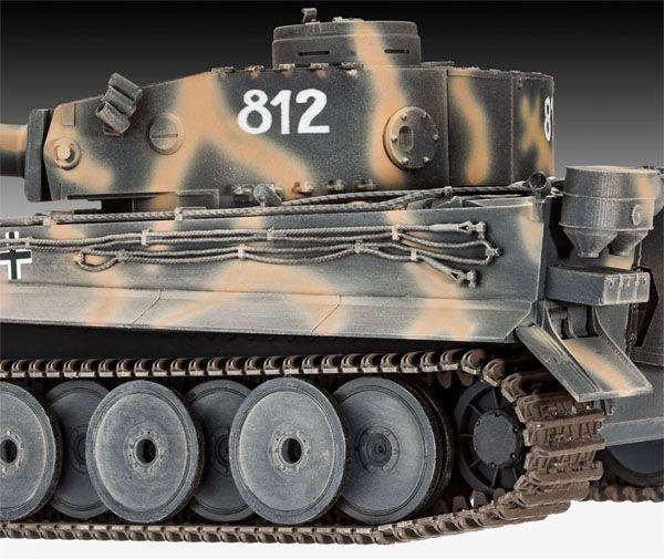 Gift-Set Tiger I Ausf.E 75th Anniversary - 1/35 - Revell 05790  - BLIMPS COMÉRCIO ELETRÔNICO