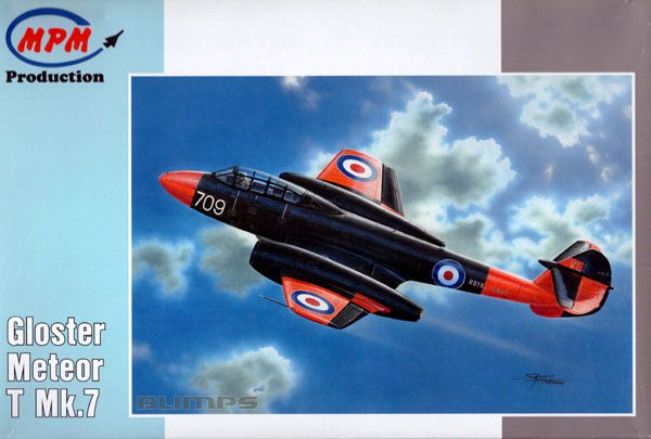 Gloster Meteor T Mk.7 - 1/72 - MPM 72548  - BLIMPS COMÉRCIO ELETRÔNICO