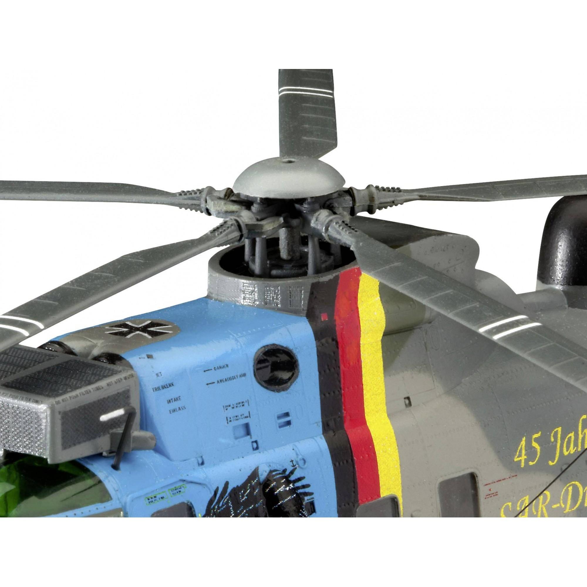 Good Bye Set DGzRS Berlin e Sea King - 1-72 - Revell 05683  - BLIMPS COMÉRCIO ELETRÔNICO