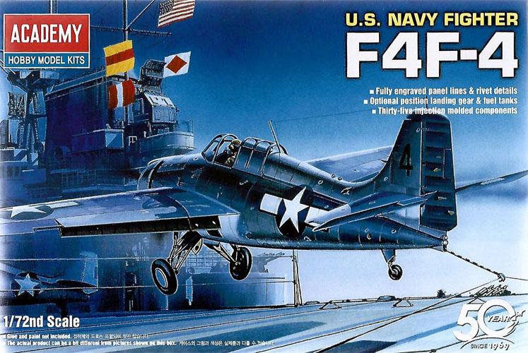 Grumman F4F-4 Wildcat - 1/72 - Academy 12451  - BLIMPS COMÉRCIO ELETRÔNICO