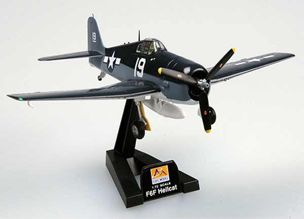 Grumman F6F-5 Hellcat - 1/72 - Easy Model 37298  - BLIMPS COMÉRCIO ELETRÔNICO