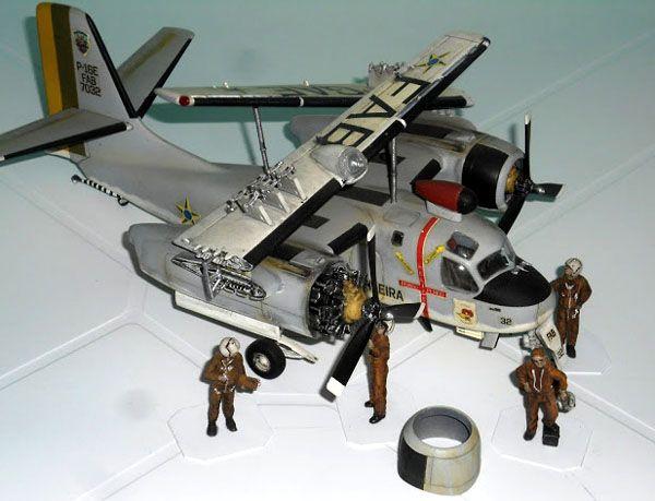 Grumman P-16 Tracker - 1/48 - GIIC  - BLIMPS COMÉRCIO ELETRÔNICO