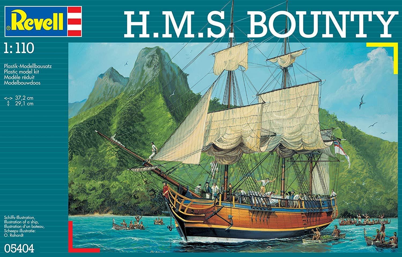 H.M.S. Bounty - 1/110 - Revell 05404  - BLIMPS COMÉRCIO ELETRÔNICO