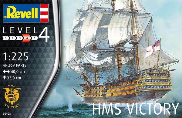 HMS Victory - 1/225 - Revell 05408  - BLIMPS COMÉRCIO ELETRÔNICO