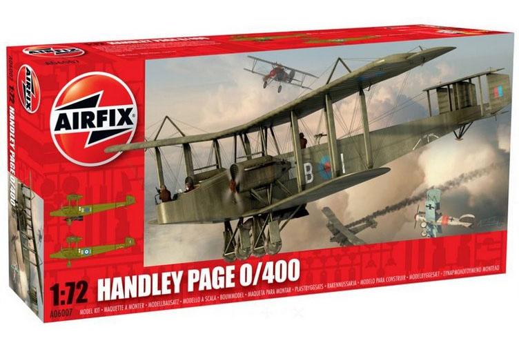 Handley Page 0/400 - 1/72 - Airfix A06007  - BLIMPS COMÉRCIO ELETRÔNICO