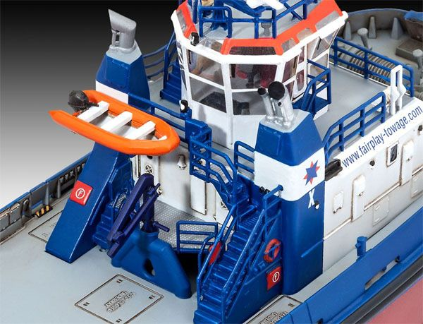 Harbour Tug Boat Fairplay I, III, X - 1/144 - Revell 05213  - BLIMPS COMÉRCIO ELETRÔNICO