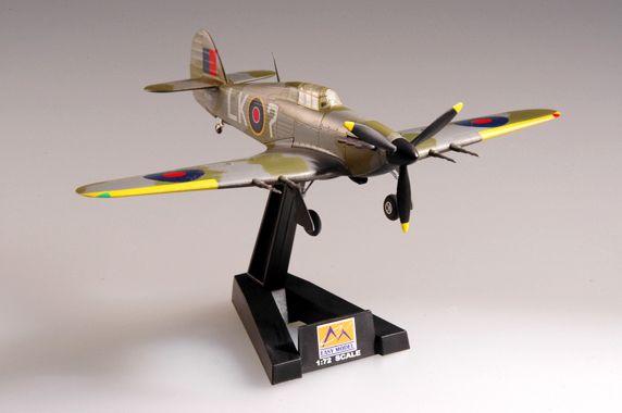 Hawker Hurricane MK.II - 1/72 - Easy Model 37241  - BLIMPS COMÉRCIO ELETRÔNICO
