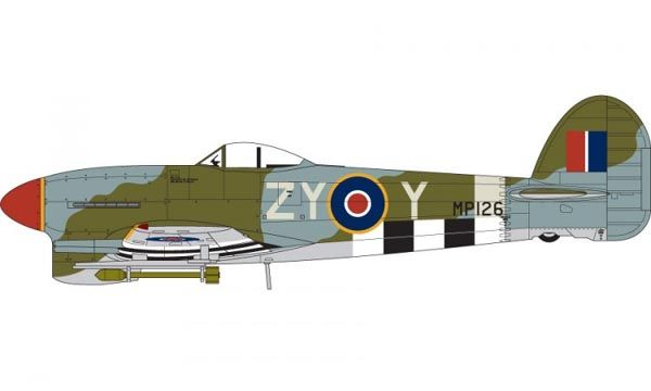 Hawker Typhoon IB - 1/72 - Airfix A02041  - BLIMPS COMÉRCIO ELETRÔNICO