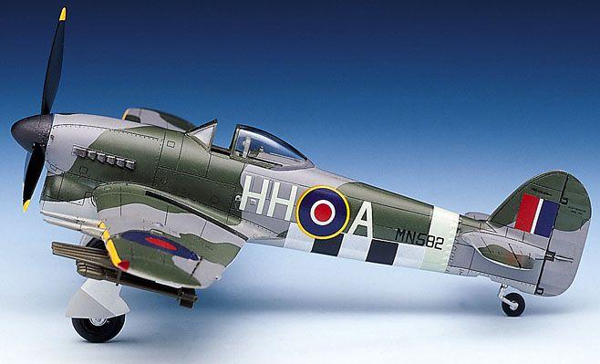 Hawker Typhoon Mk.Ib - 1/72 - Academy 12462  - BLIMPS COMÉRCIO ELETRÔNICO