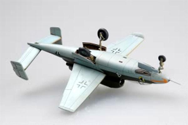 "He162 ""Salamander"" - 1/72 - HobbyBoss 80239  - BLIMPS COMÉRCIO ELETRÔNICO"