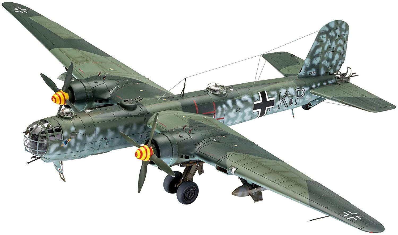 """Heinkel He177 A-5 """"GREIF"""" - 1/72 - Revell 03913  - BLIMPS COMÉRCIO ELETRÔNICO"""