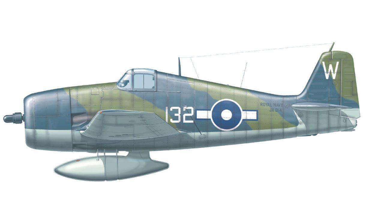 Hellcat Mk.II - 1/48 - Eduard 84134  - BLIMPS COMÉRCIO ELETRÔNICO