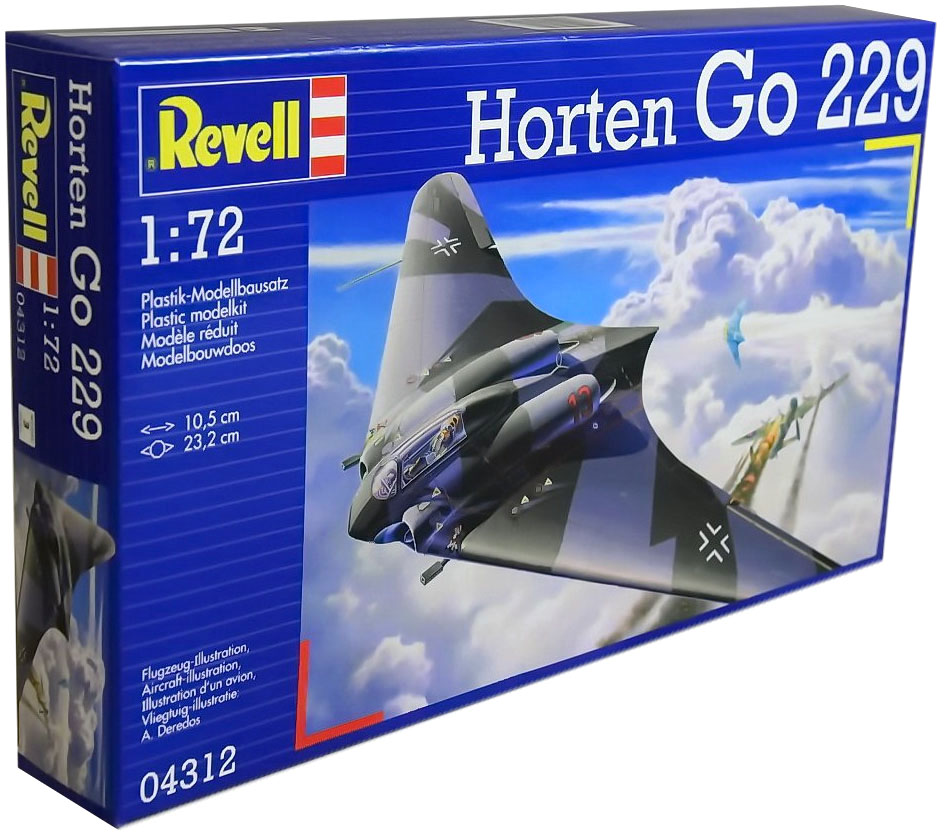 Horten Go 229 - 1/72 - Revell 04312  - BLIMPS COMÉRCIO ELETRÔNICO