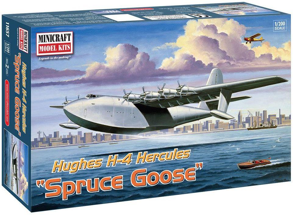 Hughes H-4 Hercules (Spruce Goose) - 1/200 - Minicraft 14657  - BLIMPS COMÉRCIO ELETRÔNICO