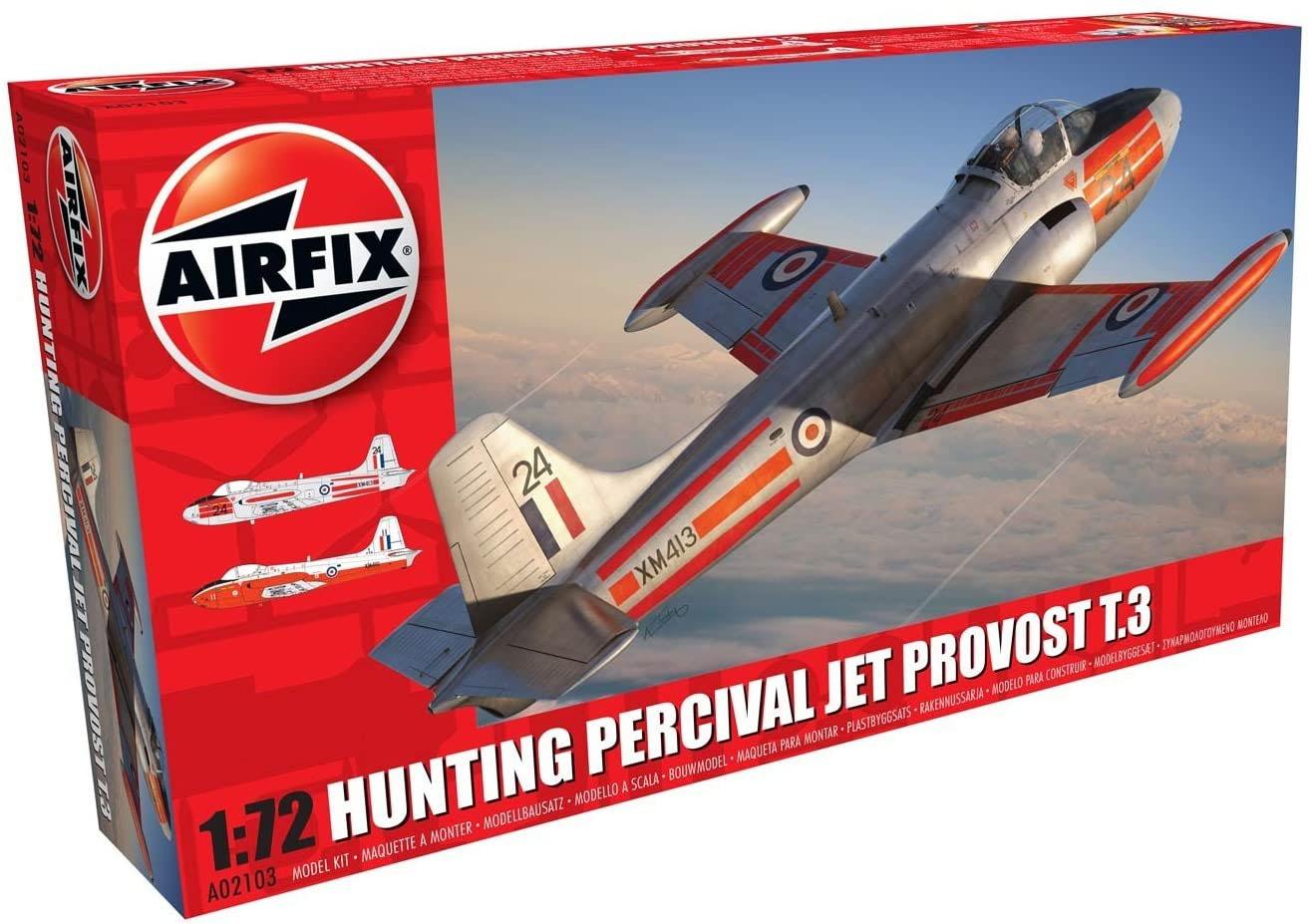 Hunting Percival Jet Provost T.3 - 1/72 - Airfix A02103  - BLIMPS COMÉRCIO ELETRÔNICO