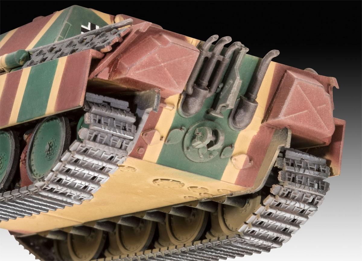 Jagdpanther Sd.Kfz.173 - 1/72 - Revell 03327  - BLIMPS COMÉRCIO ELETRÔNICO
