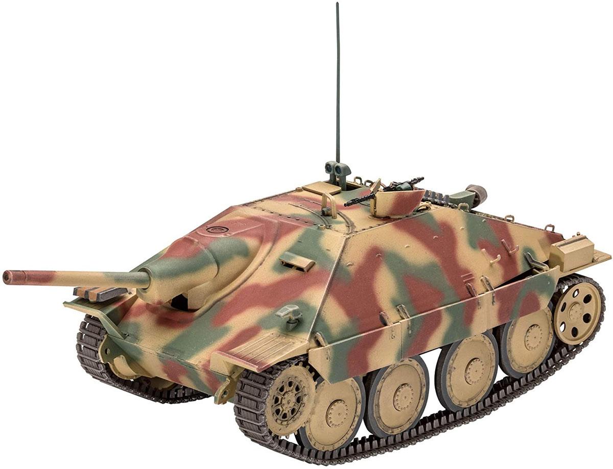 Jagdpanzer 38 (t) HETZER - 1/35 - Revell 03272  - BLIMPS COMÉRCIO ELETRÔNICO