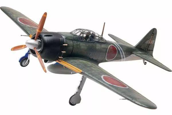 Japanese A6M5 Zero - 1/48 - Revell 85-5267  - BLIMPS COMÉRCIO ELETRÔNICO